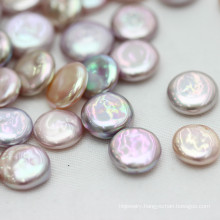 12-13mm Top Quality Coin Baroque Loose Pearl Wholesale, Multi-Color