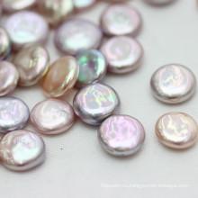 12-13mm Высокое качество монеты барокко Loose Pearl Оптовая, многоцветный