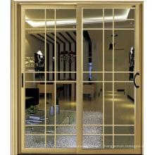 Porte coulissante extérieure en aluminium