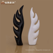 christmas new design in abstract tree shape for home table decor resin handicraft
