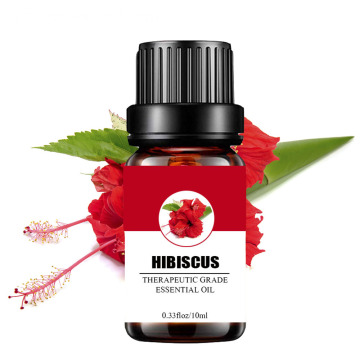 Private Label 100% pure huile essentielle d'hibiscus naturel