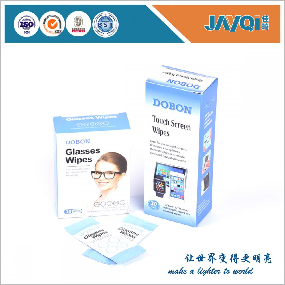 Customized Glasses Lens Single Wet Wipes