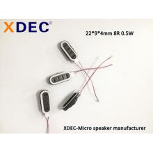 2209 8R 0.5W relógio inteligente pulseira telefone falante