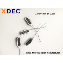2209 8R 0.5W Reloj inteligente pulsera para teléfono con altavoz