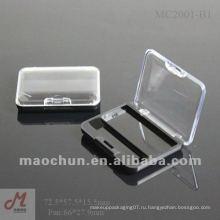 MC2001-B1 Окно крышка небольшой тени для век коробка пластик, оптовая палитра для теней, тени для век оптом