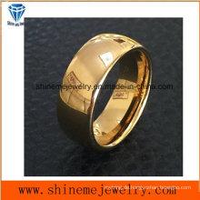 Shineme Schmucksache-Qualitäts-Gold überzogener Schmucksache-Wolfram-Ring (TST2838)
