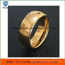 Shineme Jewelry High Quality Gold Plated Jewelry Tungsten Ring (TST2838)