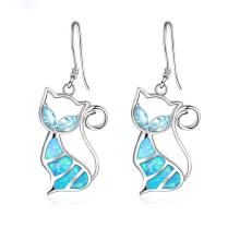 New Fashion Opal Earring Animal Shaped jewelry Opal Stone Earrings for Women