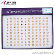 boucle d'oreille-136 xuping mode 18K couleur or en alliage de cuivre boucle d'oreille pour les femmes