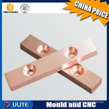 Diseñador cnc útil mecanizado piezas de detector de metales