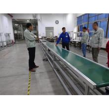 Correia transportadora móvel para linha de produção
