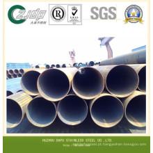 ASTM A269 Tubo de aço inoxidável Tubo sem costura Tubo soldado