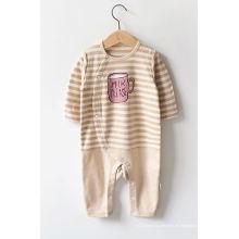 Mameluco orgánico del bebé con ventas enteras del diseño de lujo de China