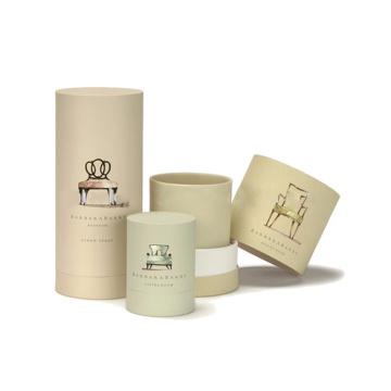 Boîte de bouteille de parfum ronde de luxe sur mesure