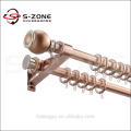 aluminum curtain rod and pole,wall mount