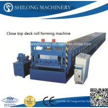 Hydraulische automatische Farbe Stahlblech verglaste Dachziegel Platte Panel Roll Forming Machine