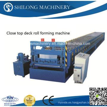 Hoja de acero inoxidable del color de la hoja automática que forma la máquina