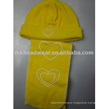 fleece hat&scarf