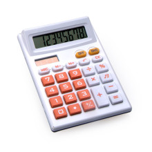 8 Digits Dual Power Handheld Calculator