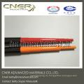 Tubo telescópico de fibra de carbono de 80 pies, patrón de tela de carbono brillante tubos 3K Skype: hiletustalk Whatsapp (móvil): 008618764302218