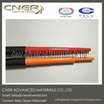 80 feet Carbon fiber telescopic tube, Glossy Carbon Cloth Pattern 3K tubes Skype: hiletustalk Whatsapp(Mobile): 008618764302218