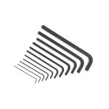10PCS Inbusschlüssel / Sechskantschlüssel Set mit Cr-V Material