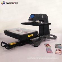 2015 Sunmeta latest design all in one automatic heat press sublimation machine ST-420
