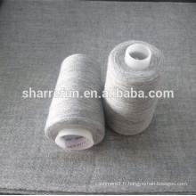 fil de tissage de nylon de laine de qualité superbe 28NM / 1 50/50