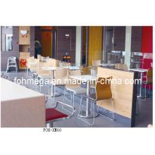 Großhandel Moderne Fast Food Restaurant Möbel Tisch und Stuhl (FOH-XM60)
