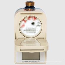 Medidor de agua fría y caliente prepaga inteligente de múltiples funciones