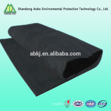 High temperature insulation activated carbon fiber needle-punched felt