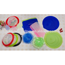 2015 Household Heat Resistant Non-stick Plate topper Made in China factory food grade silicone plate topper Lid
