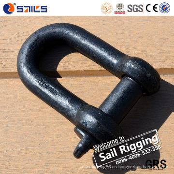 Grillete de anclaje de cadena de hardware marino