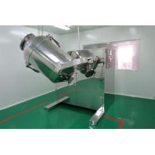 Misturador de maquinaria farmacêutica tipo quadrado-cone com funil de levantamento