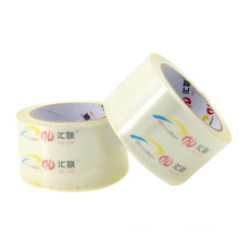 Clear Adhesive Tape Roll 52mm Width 100M BOPP Transparent Packing Tape With Customization