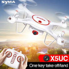 SYMA X5UC 2.4GHz 4CH 6 Axis Gyro RC Camera Drone 2MP HD Camera Remote Control Quadcopter