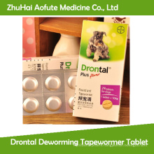 Drontal Deworming Tapewormer Tablet / Pill for Pet