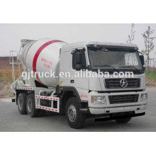 Dayun 6X4 drive concrete mixer truck for 6-10 cubic meter