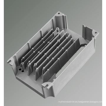 Las piezas de aluminio fundido a presión fundir el disipador de calor