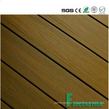 Decking exterior plástico de madeira impermeável do composto WPC do preço competitivo