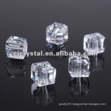 Fashion Square Glass Beads