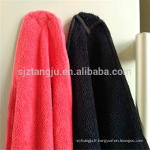 Serviette de nettoyage en microfibre à haute absorption pour un usage domestique