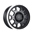 Cerchioni AM Custom Pickup 17x8 neri piatti