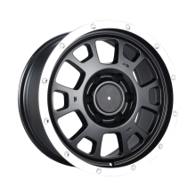 AM Custom Pickup Felgen 17x8 Flat Black