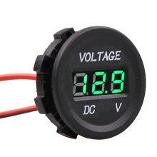 Mètre de tension imperméable léger de voltmètre de la voiture marine 12V-24V LED