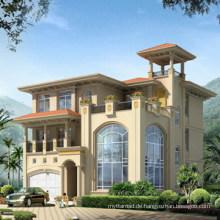 Vorgefertigte Villa mit verschiedenen Layouts-V002