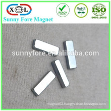 small block magnetic strips for clothing