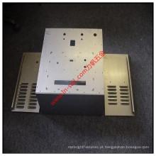 Metal feito sob encomenda da elevada precisão que carimba o ISO de perfuração da caixa da eletricidade aprovado
