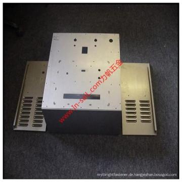 Kundenspezifisches hohes Präzisions-Metall, das den Stanzbox-Stromkasten ISO bestätigt, genehmigte