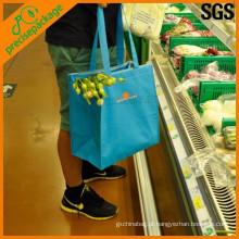 manuseio de saco de aquecimento alimentar reutilizável
